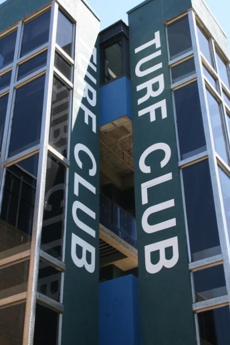 Sacramento Mile Exterior Turf Club Entrance